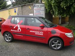 Náhradní vozidlo autoservis Patrik Brož, Ústí nad Labem